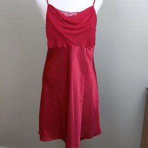 Delicates Sexy Red chemise slip M